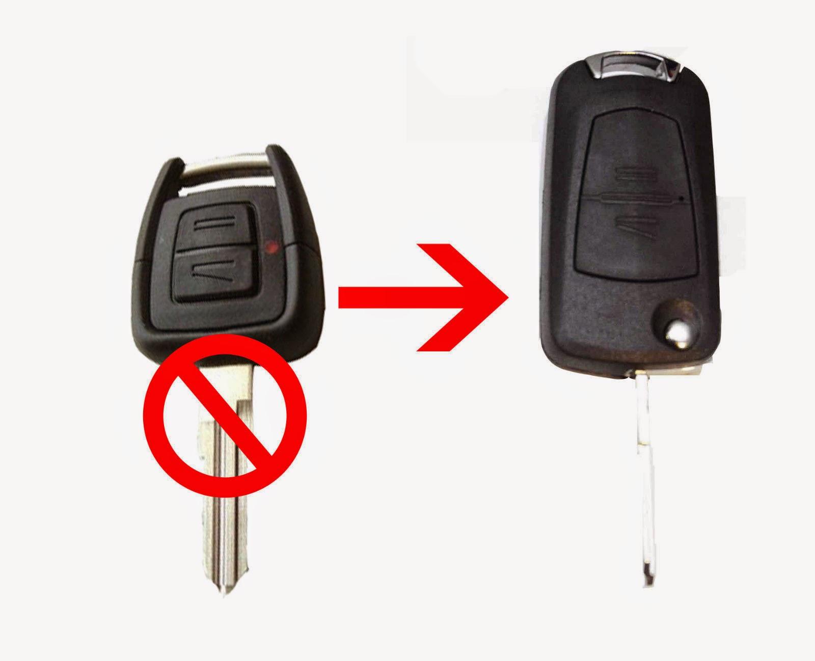 độ chìa khóa xe ô tô gập flipkey