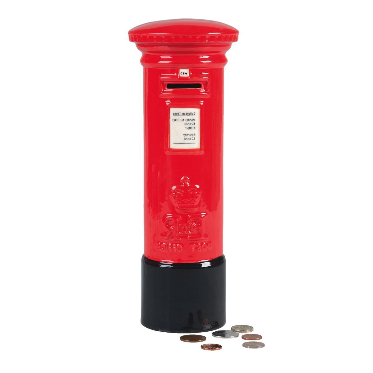 Large Post Box Money Box