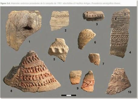 Cerámicas neolíticas del Abric de la Falguera - Alcoy