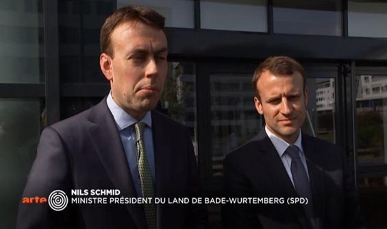 Macron passa a Estrasborg