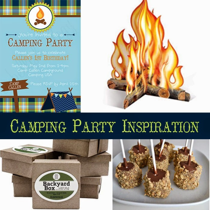 Camping Party Inspiration | Just Wait til You have Kids