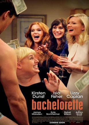 مشاهدة فيلم الكوميديا الرائع لنجمة کیرستن دانست Bachelorette 2012 مترجم اون لاين
