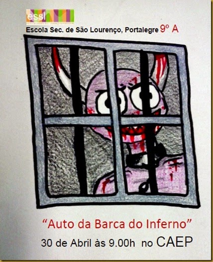 Cartaz Barca do Inferno