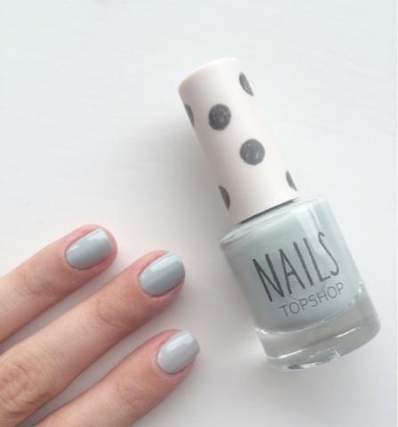 Topshop, Topshop makeup, Topshop nails, Topshop nail polish in tidal, Topshop nail polish tidal swatch