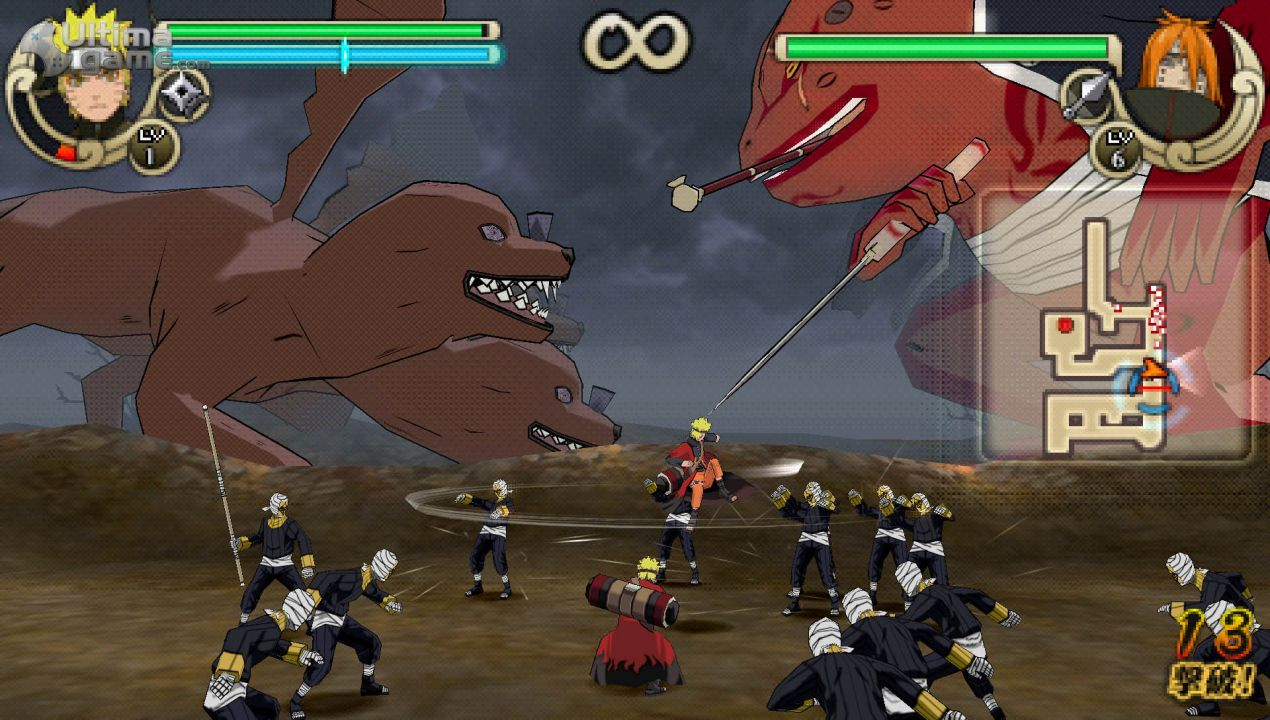 game naruto cso for ppsspp android