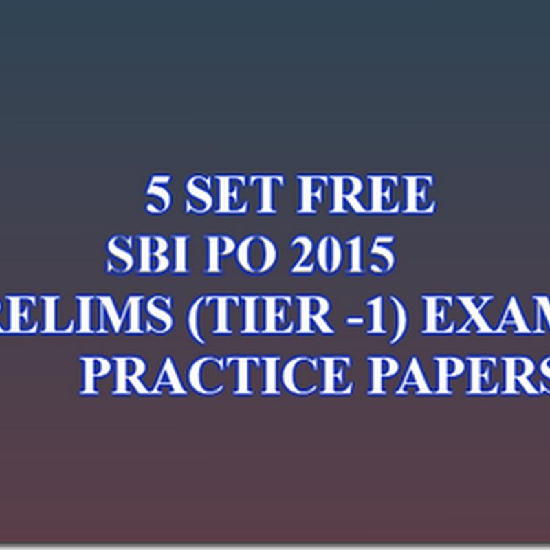 SBI PO Descriptive Test     Previous Cutoffs Topics   Books to Prepare