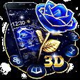 Crystal Rose Love 3D Theme