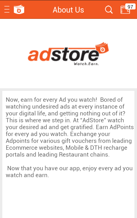 Adstore Watch and Earn   Paytm Cash Blog