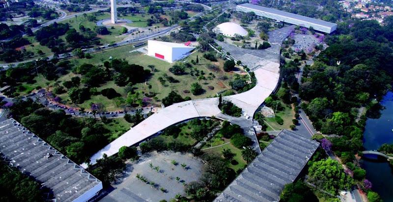 Parque Ibirapuera di San Paolo - Oscar Niemeyer