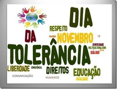 Resultado de imagem para dia internacional da tolerância banner