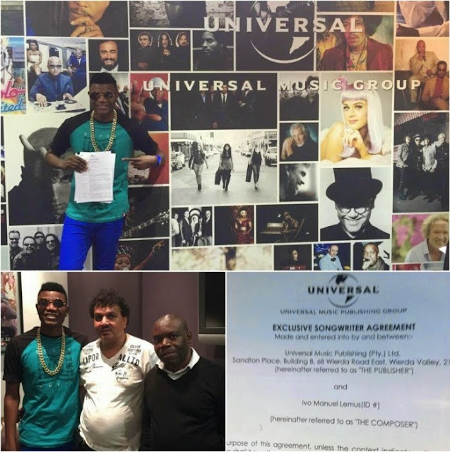 Cabo Snoop Signs Record Deal With Universal Records
