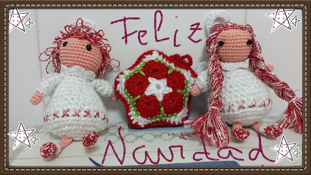 Amigurumis Navidad 2015 : Tejedora de amigurumis feliz navidad