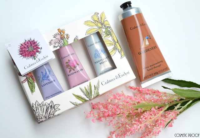 HANDS Crabtree Evelyn Ultra Moisturizing Floral Hand Therapy