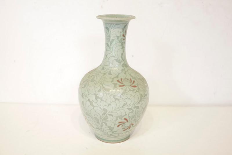 Asian Gourd Vase