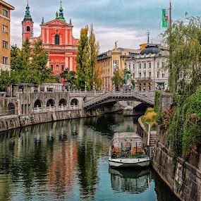 Ljubljana by Estislav Ploshtakov - Buildings & Architecture Public & Historical