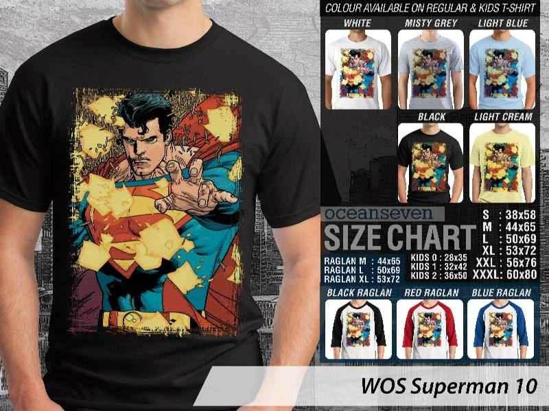 KAOS superman 10 Movie Series distro ocean seven