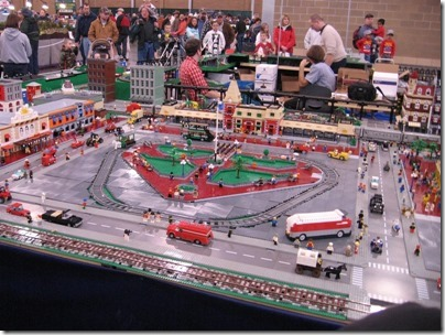 IMG_0836 Puget Sound Lego Train Club Layout at the WGH Show in Puyallup, Washington on November 21, 2009
