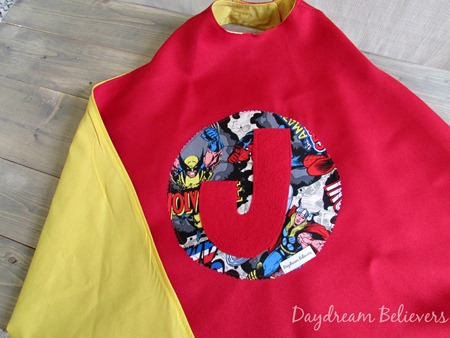 Personalized Superhero Dress Up Cape for Boys and Girls Fully Lined Handcrafted in the USA by Daydream Believers Designs 4