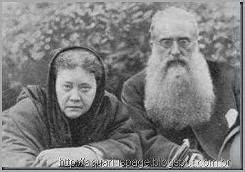Helena P. Blavatsky e Coronel Olcott
