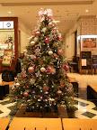 新宿京王百貨店レストラン街のクリスマスツリー2011
