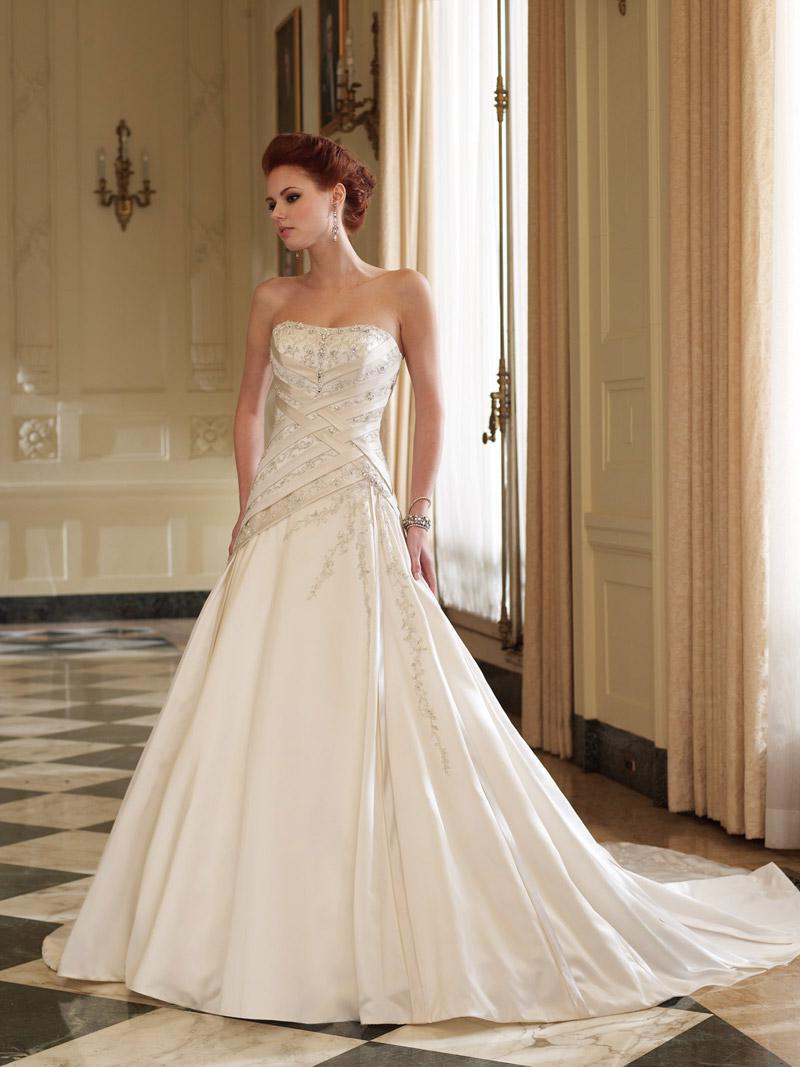 Wedding Dress.  200.00