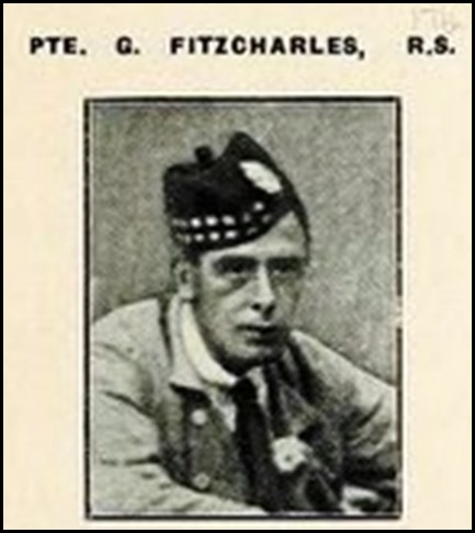 FITZCHARLES_Private George_photo_Roll of Honour book