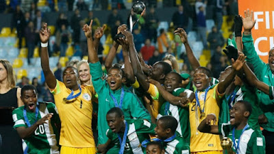 Nigeria Golden Eaglet win FIFA U-17 World Cup