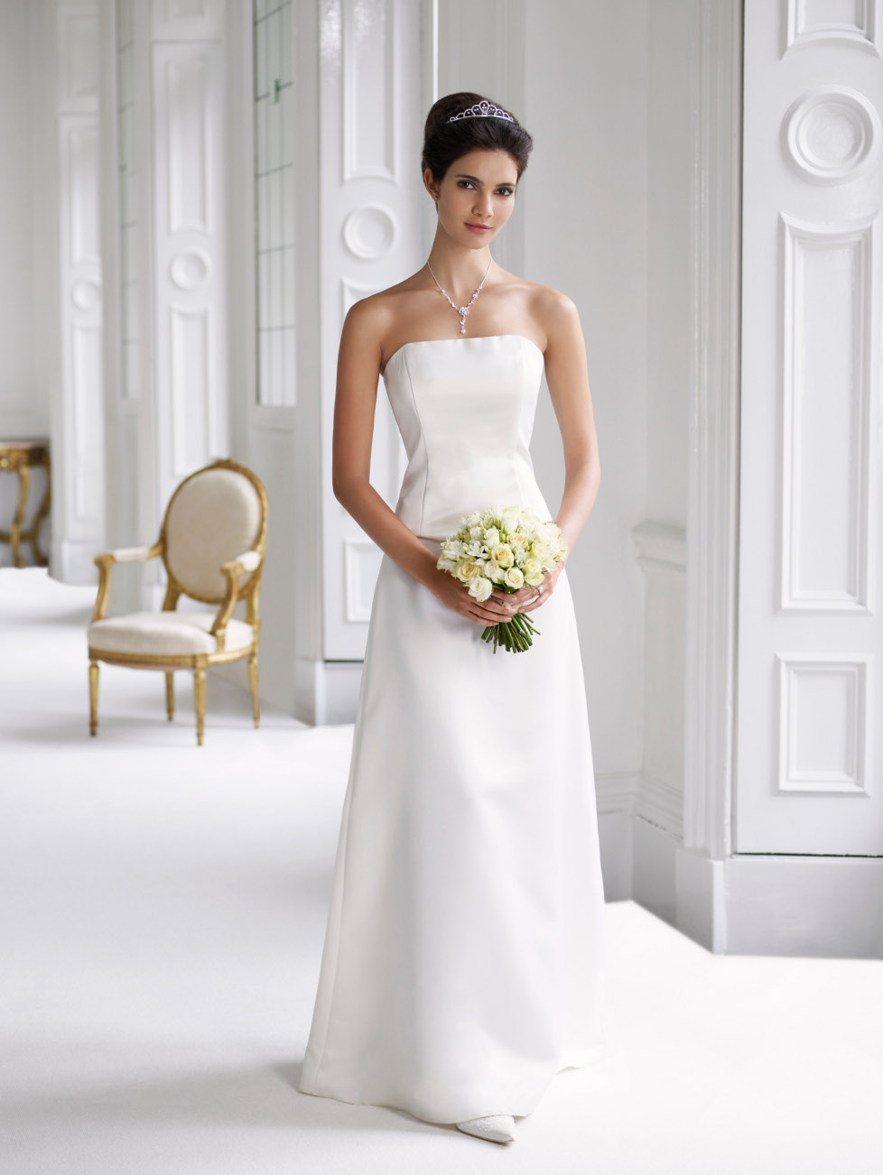 White Wedding Dress Design