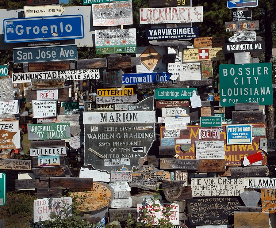 The sign forest... by Bill Keaton - Artistic Objects Other Objects ( pwcroadsigns )