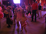 Lori and Hannah line dancing in the Wildhorse Saloon in Nashville TN 09032011b