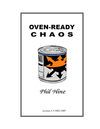 Cover of Phil Hine's Book Oven Ready Chaos