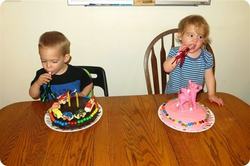 Twins 2nd Birthday