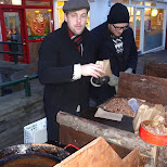 sugar coated almonds are a popular street snack in Reykjavik in Reykjavik, Hofuoborgarsvaeoi, Iceland