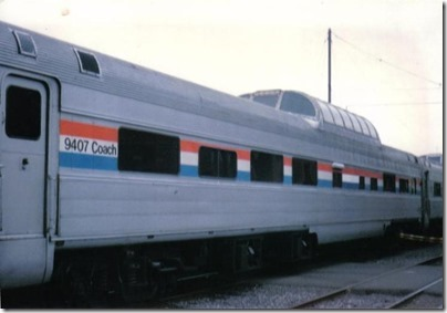 BKSX Dome Coach #9407 at Union Station in Portland, Oregon on May 11, 1996