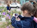 Educação Infantil fotografa na Rua Manoel Leão