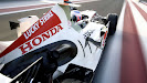 Honda RA106 driven by Jenson Button