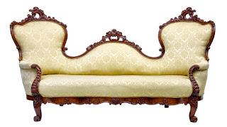 Очень красивая антикварная софа 19-й век. 228/86/120 см. 5500 евро.
