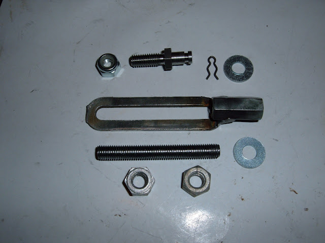 Special Dynaflow pass gear linkage kit for aftermarket carbs on 57-63 364-401-425.. A MUST HAVE!