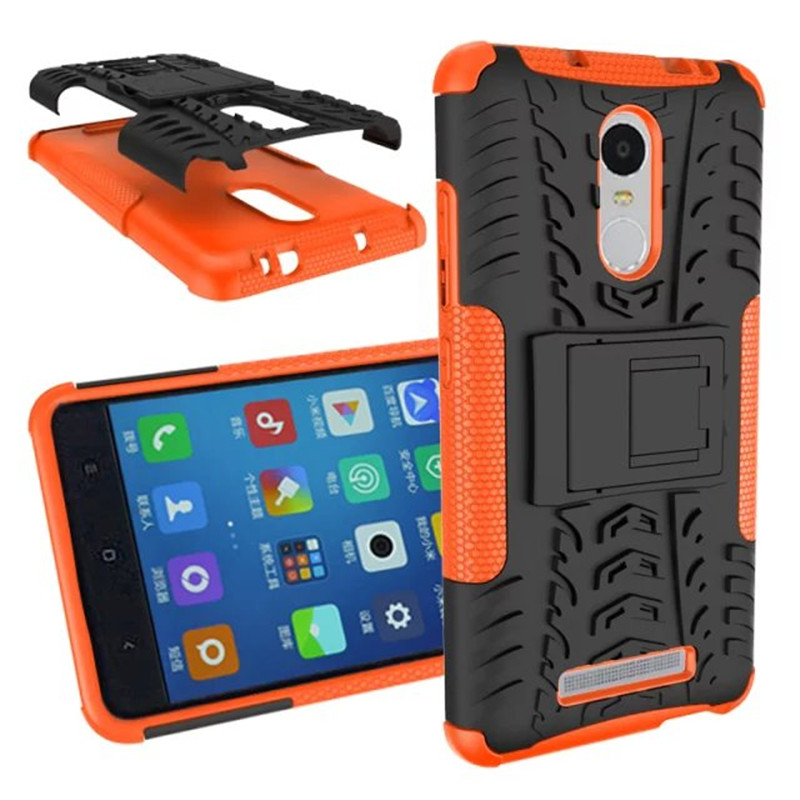 Image of for Xiaomi Redmi Note 3 Case Hybrid TPU + PC Protective Case Back Cover For Hongmi note3 and Redmi Note 3 pro Armor Case