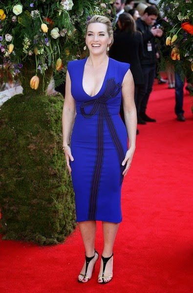 Kate Winslet Little Chaos UK Premiere Red