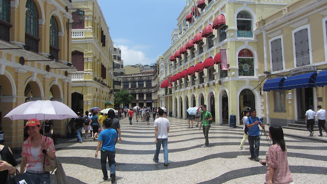 Senate Square (Largo do Senado) forms the heart of the city.