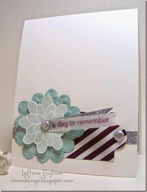 LeAnne Pugliese WeeInklings Wedding Remember This MDS Stampin Up