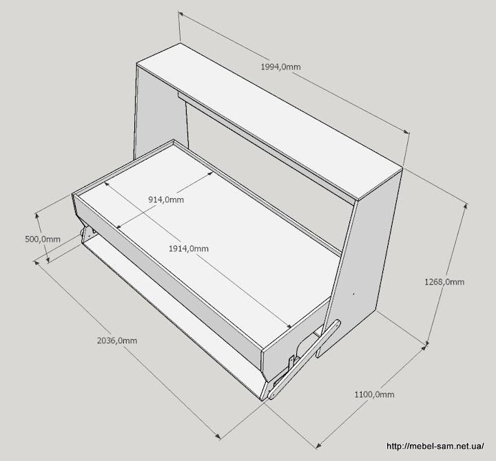 Кровать стол трансформер своими руками: инструкция