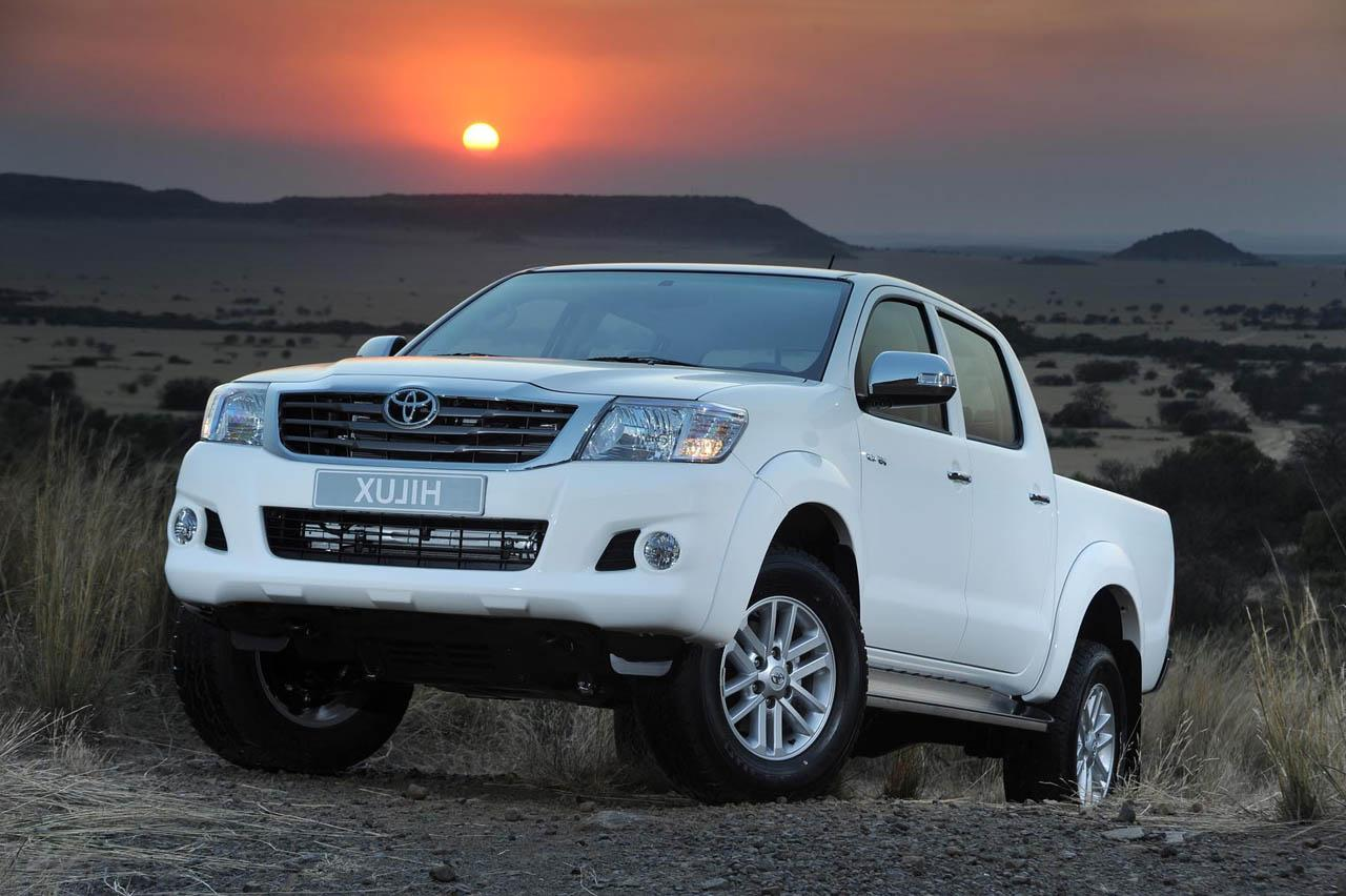 the Toyota Hilux bakkie.