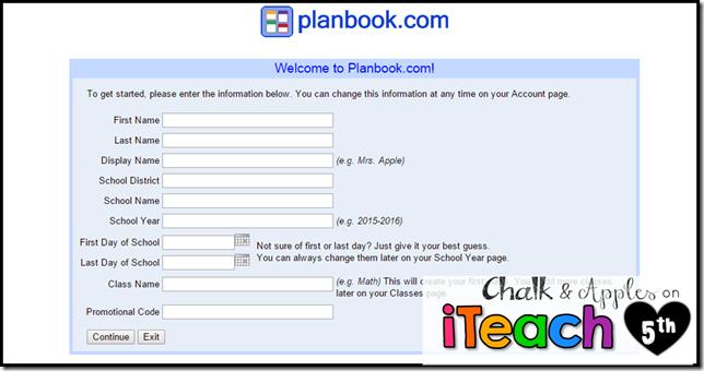 Planbook Class Info
