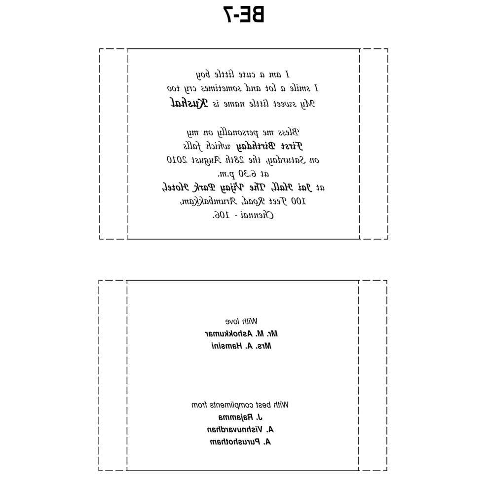 Card Invitation Wording