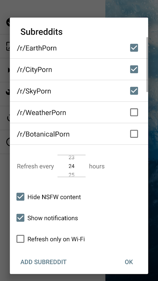 Rainpaper Screenshot 3