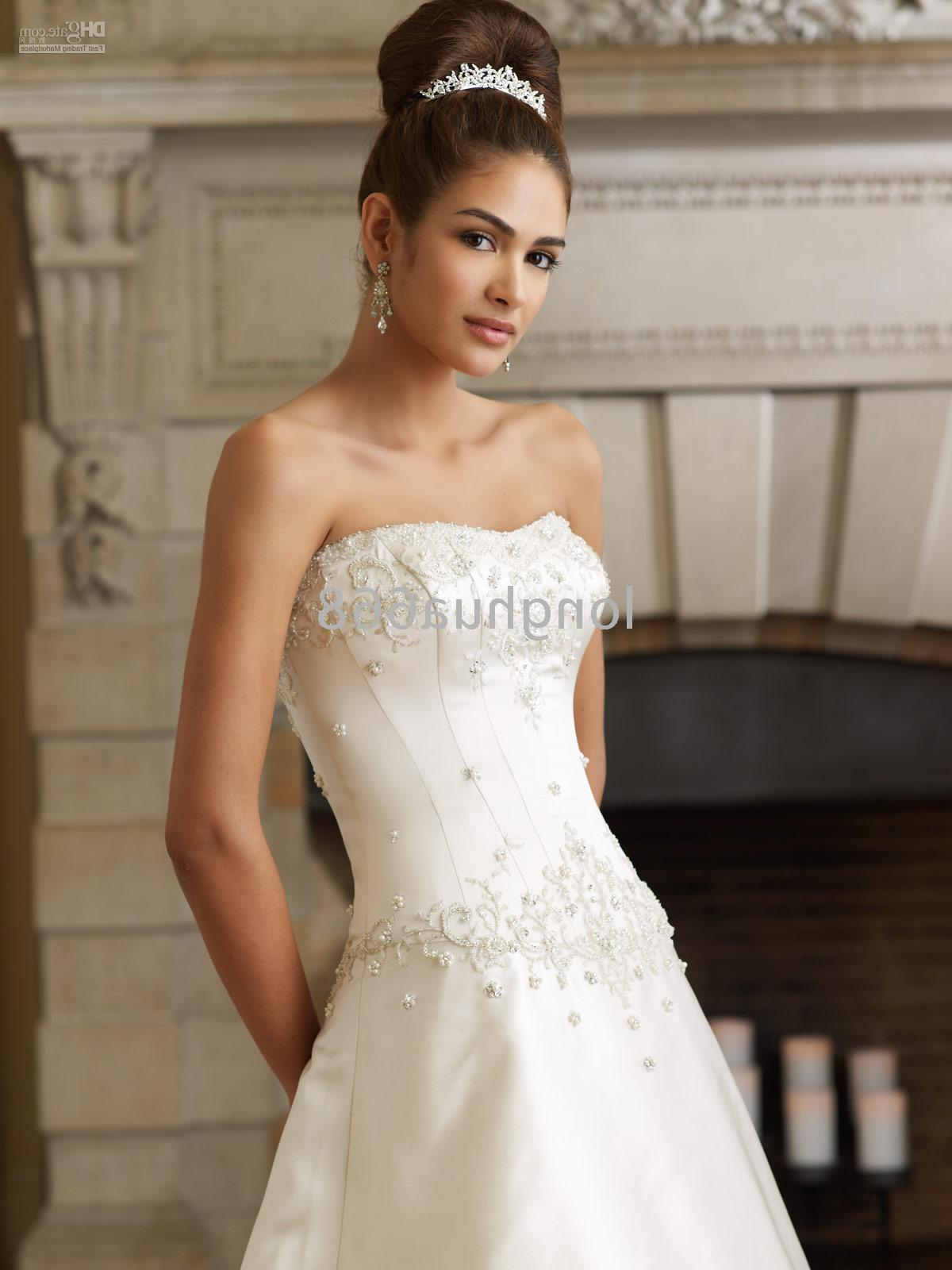 Custom-made Wedding gown evening dress  bridesmaid dress