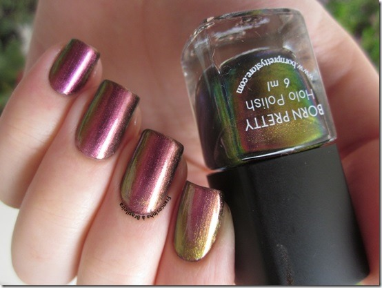 Holo polish 205 [Born Pretty]