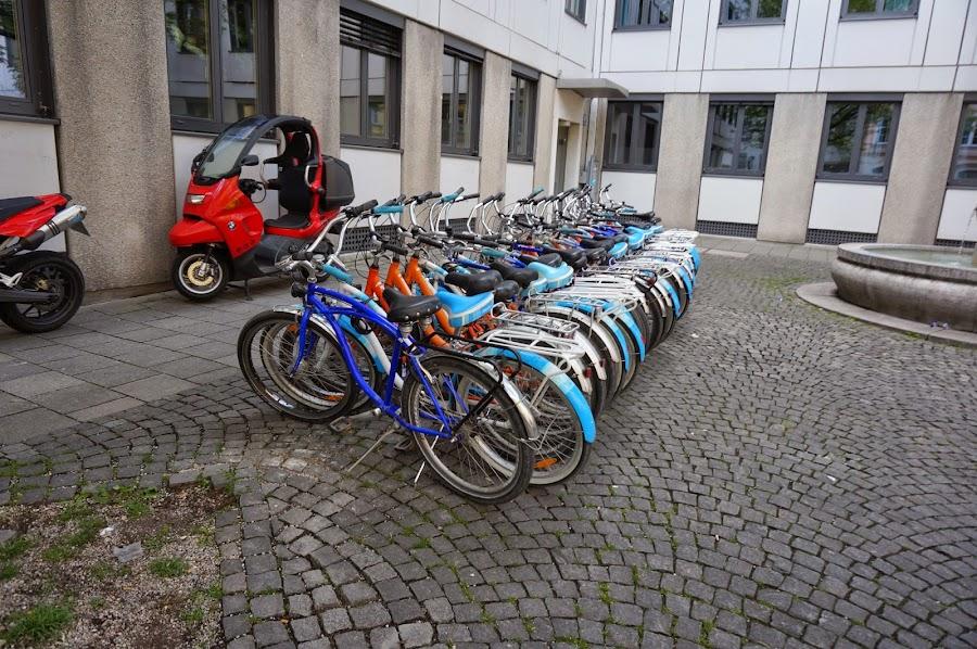 Велопрокат в Мюнхене